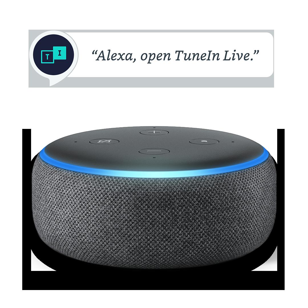 Tunein Alexa